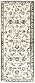 Nain Alfombra 81X200 Oriental Hecha A Mano (Lana, Persia/Irán)