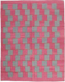 Kilim Moderno Alfombra 183X230 Moderna Tejida A Mano Rosa Claro/Rosa (Lana, India)