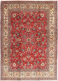 Hamadan Shahrbaf Alfombra 235X327 Oriental Hecha A Mano Rojo Oscuro/Óxido/Roja (Lana, Persia/Irán)
