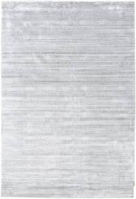 Bambú De Seda Loom - Gris Alfombra 300X400 Moderna Blanco/Crema/Gris Claro Grande ( India)