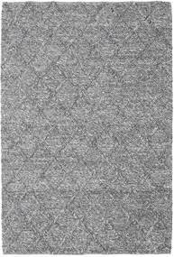 Rut - Gris Oscuro Melange Alfombra 160X230 Moderna Tejida A Mano Gris Claro/Marrón Oscuro (Lana, India)