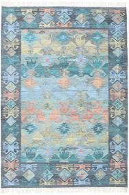Azteca - Azul Mix Alfombra 160X230 Moderna Tejida A Mano Azul Claro/Gris Claro (Lana, India)