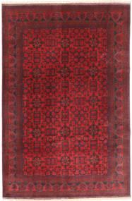 Afghan Khal Mohammadi Alfombra 197X294 Oriental Hecha A Mano Rojo Oscuro/Roja (Lana, Afganistán)