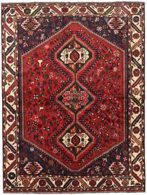 Shiraz Alfombra 166X220 Oriental Hecha A Mano Rojo Oscuro/Marrón Oscuro/Óxido/Roja (Lana, Persia/Irán)