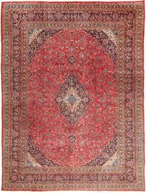 Mashad Alfombra 295X390 Oriental Hecha A Mano Rojo Oscuro/Marrón Claro Grande (Lana, Persia/Irán)