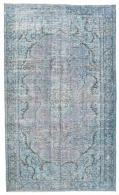 Colored Vintage Alfombra 158X260 Moderna Hecha A Mano Azul Claro/Gris Claro (Lana, Turquía)