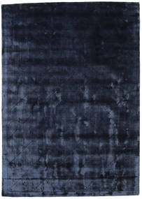 Brooklyn - Azul De Medianoche Alfombra 160X230 Moderna Azul Oscuro/Azul ( India)