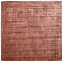 Brooklyn - Pale Copper Alfombra 250X250 Moderna Cuadrada Rojo Oscuro/Marrón Claro Grande ( India)