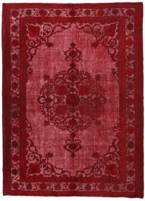Colored Vintage Relief Alfombra 226X309 Moderna Hecha A Mano Rojo Oscuro/Roja (Lana, Turquía)