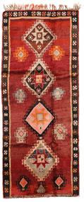 Herki Vintage Alfombra 166X403 Oriental Hecha A Mano Rojo Oscuro/Óxido/Roja/Marrón Oscuro (Lana, Turquía)