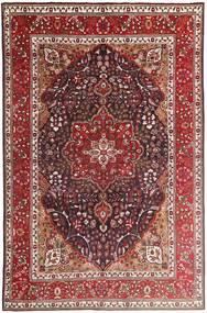 Tabriz Alfombra 207X315 Oriental Hecha A Mano Rojo Oscuro/Marrón Oscuro (Lana, Persia/Irán)