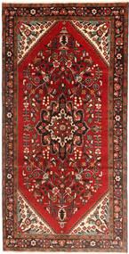 Hamadan Alfombra 160X323 Oriental Hecha A Mano Rojo Oscuro/Óxido/Roja (Lana, Persia/Irán)