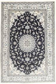 Nain Alfombra 194X287 Oriental Hecha A Mano Gris Claro/Gris Oscuro (Lana, Persia/Irán)