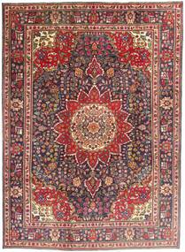 Tabriz Alfombra 212X292 Oriental Hecha A Mano Rojo Oscuro/Marrón Oscuro (Lana, Persia/Irán)