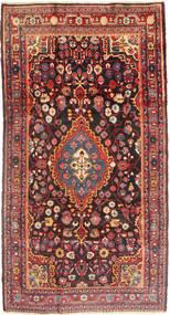 Jozan Alfombra 162X298 Oriental Hecha A Mano Rojo Oscuro/Marrón Oscuro (Lana, Persia/Irán)