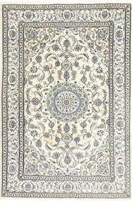 Nain Alfombra 195X300 Oriental Hecha A Mano Beige/Gris Claro/Gris Oscuro (Lana, Persia/Irán)
