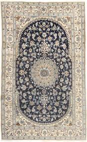 Nain Alfombra 185X310 Oriental Hecha A Mano Gris Claro/Gris Oscuro (Lana, Persia/Irán)