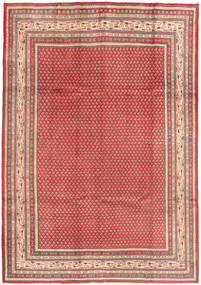 Sarough Mir Alfombra 215X310 Oriental Hecha A Mano Marrón/Rosa (Lana, Persia/Irán)