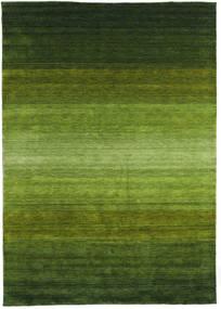 Gabbeh Rainbow - Verde Alfombra 300X400 Moderna Verde Oscuro/Verde Oliva Grande (Lana, India)