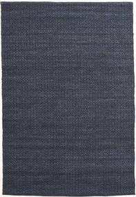 Alva - Azul/Negro Alfombra 160X230 Moderna Tejida A Mano Azul Oscuro/Violeta (Lana, India)