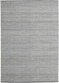 Alva - Gris Oscuro/Blanco Alfombra 140X200 Moderna Tejida A Mano Gris Claro/Gris Oscuro (Lana, India)