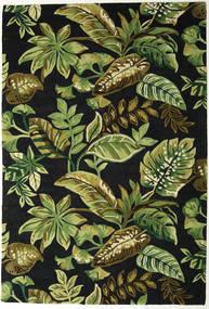 Jungel - Verde/Negro Alfombra 200X300 Moderna Verde Oscuro/Verde Oliva (Lana, India)