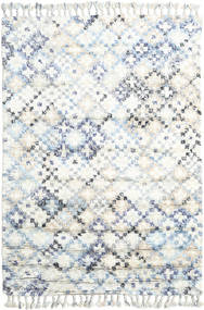 Greta Alfombra 160X230 Moderna Hecha A Mano Blanco/Crema/Beige (Lana, India)