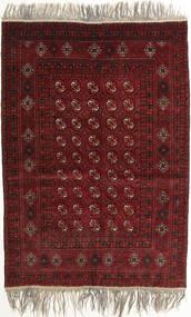 Afghan Khal Mohammadi Alfombra 132X182 Oriental Hecha A Mano Rojo Oscuro/Gris Claro (Lana, Afganistán)