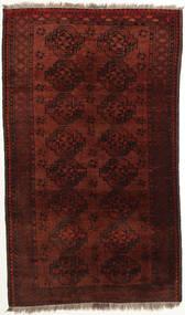 Afghan Khal Mohammadi Alfombra 111X188 Oriental Hecha A Mano Rojo Oscuro/Marrón Oscuro (Lana, Afganistán)