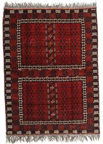 Afghan Khal Mohammadi Alfombra 167X221 Oriental Hecha A Mano Rojo Oscuro/Gris Claro (Lana, Afganistán)