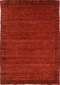 Handloom Frame - Óxido Alfombra 160X230 Moderna Óxido/Roja/Roja (Lana, India)