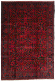 Afghan Khal Mohammadi Alfombra 203X292 Oriental Hecha A Mano Rojo Oscuro/Roja (Lana, Afganistán)