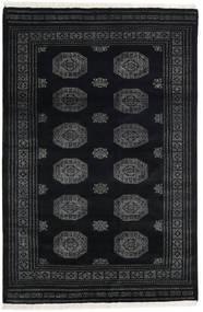 Pakistan Bukara 3Ply Alfombra 166X251 Oriental Hecha A Mano Gris Oscuro/Negro (Lana, Pakistán)