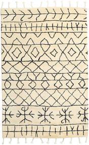 Moss Berber - Natural Alfombra 180X275 Moderna Hecha A Mano Beige (Lana, India)