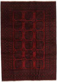 Afghan Alfombra 203X286 Oriental Hecha A Mano Rojo Oscuro (Lana, Afganistán)