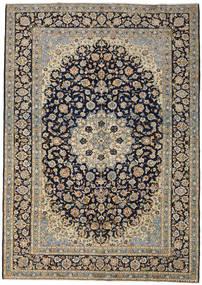 Keshan Alfombra 273X388 Oriental Hecha A Mano Gris Oscuro/Gris Claro Grande (Lana, Persia/Irán)