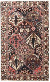 Bakhtiar Patina Alfombra 150X247 Oriental Hecha A Mano Marrón Oscuro/Rojo Oscuro (Lana, Persia/Irán)