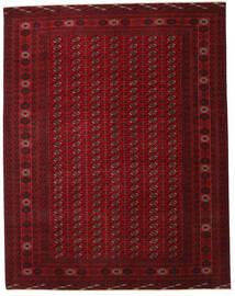 Turkaman Patina Alfombra 305X390 Oriental Hecha A Mano Rojo Oscuro/Marrón Oscuro Grande (Lana, Persia/Irán)
