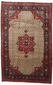 Songhor Alfombra 206X322 Oriental Hecha A Mano Marrón Claro/Negro (Lana, Persia/Irán)