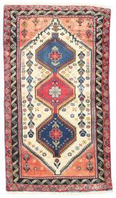 Yalameh Alfombra 75X135 Oriental Hecha A Mano Beige/Gris Claro (Lana, Persia/Irán)