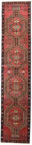 Ardabil Patina Alfombra 81X385 Oriental Hecha A Mano Rojo Oscuro/Negro (Lana, Persia/Irán)