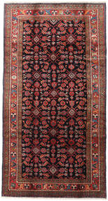 Lillian Alfombra 165X317 Oriental Hecha A Mano Rojo Oscuro/Negro (Lana, Persia/Irán)