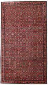 Hosseinabad Patina Alfombra 163X290 Oriental Hecha A Mano Rojo Oscuro/Negro (Lana, Persia/Irán)
