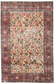 Mashad Patina Alfombra 185X285 Oriental Hecha A Mano Marrón Claro/Gris Oscuro (Lana, Persia/Irán)