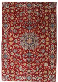 Najafabad Patina Alfombra 220X317 Oriental Hecha A Mano Rojo Oscuro/Marrón Oscuro (Lana, Persia/Irán)