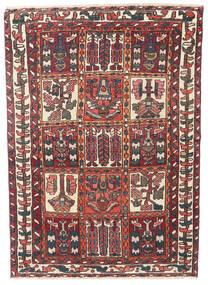 Bakhtiar Patina Alfombra 110X152 Oriental Hecha A Mano Rojo Oscuro/Marrón Oscuro (Lana, Persia/Irán)