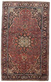 Bidjar Alfombra 129X212 Oriental Hecha A Mano Rojo Oscuro/Marrón Oscuro (Lana, Persia/Irán)