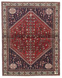 Abadeh Alfombra 100X128 Oriental Hecha A Mano Marrón Oscuro/Rojo Oscuro (Lana, Persia/Irán)