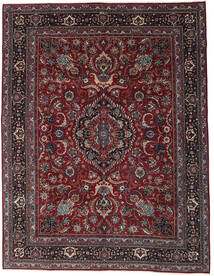 Mashad Patina Alfombra 304X398 Oriental Hecha A Mano Rojo Oscuro/Gris Oscuro Grande (Lana, Persia/Irán)