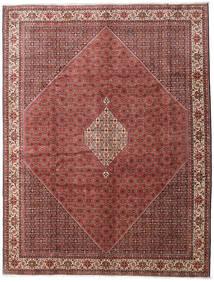 Bidjar Zanjan Alfombra 300X390 Oriental Hecha A Mano Marrón Oscuro/Rojo Oscuro Grande (Lana, Persia/Irán)